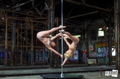 Pole Art Magazine Double Handsprings